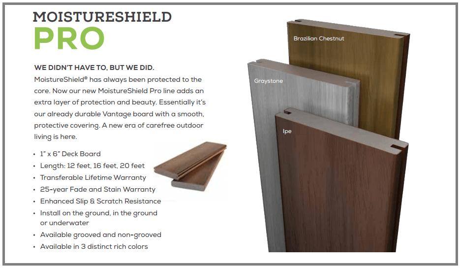 Moistureshield Composite Decking Cleveland Lumber Co