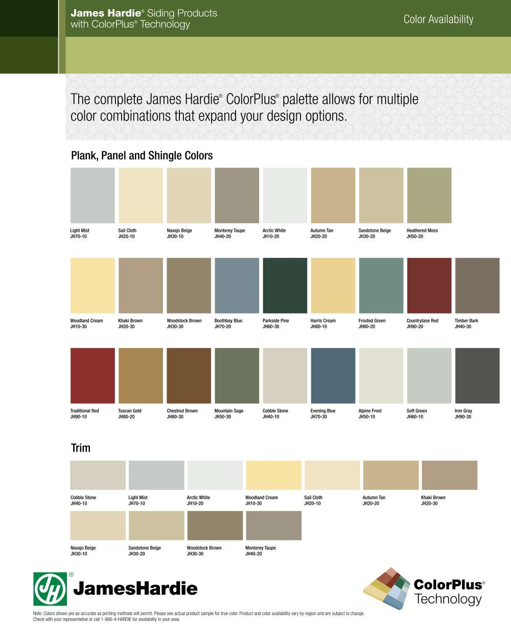 color palette for kitchen hardie siding cleveland ohio cleveland lumber co 5550
