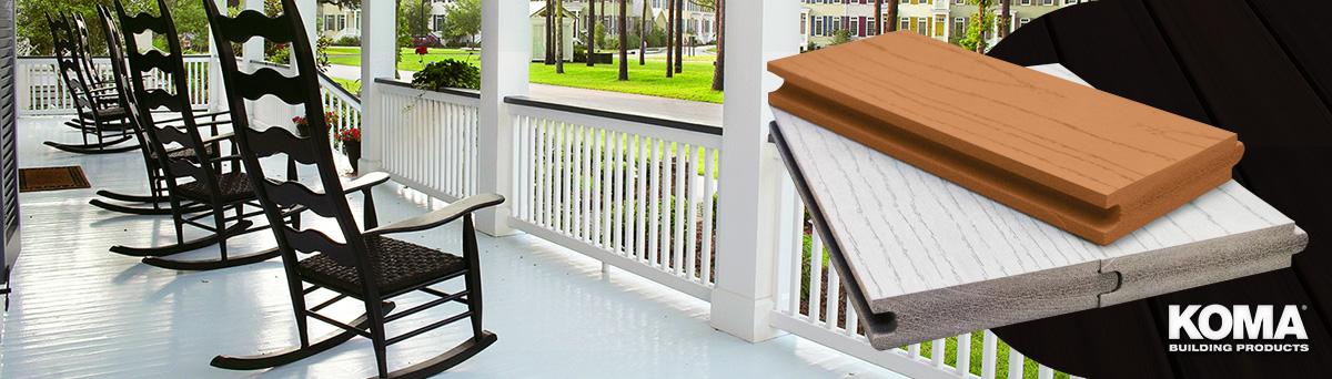 Koma Harmony Porch Flooring Cleveland Lumber Co