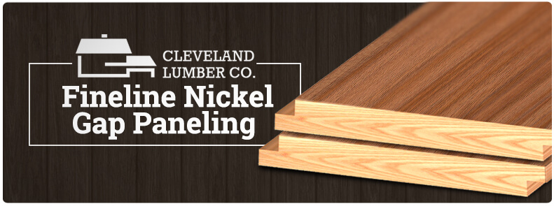 Fineline Nickel Gap Shiplap Paneling Cleveland Lumber Co