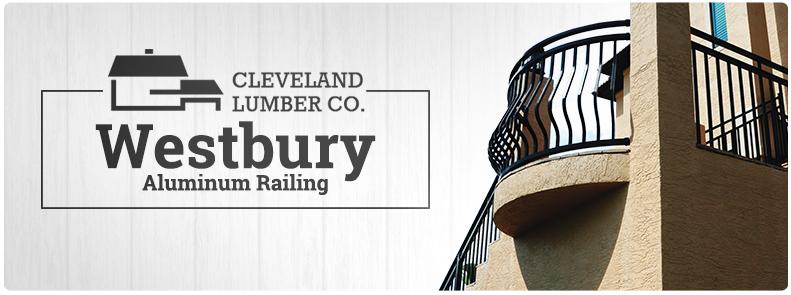 Westbury Aluminum Railing Cleveland Lumber Co